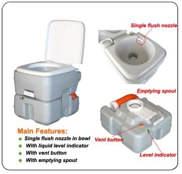 Kazema Camping toilet