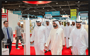 SHEIKH MOHAMMED TOURS BIG 5 EXHIBITION PORTABLE TOILETS KAZEMA