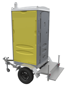 Single cabin trailer toilet full kit X Pac