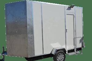 Trailer Luxury toilet