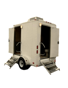 Trailer portable toilets double cabin clipped1