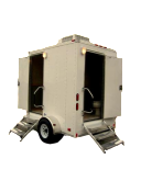 Trailer portable toilets double cabin clipped1