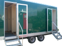 hire portable trailer toilets