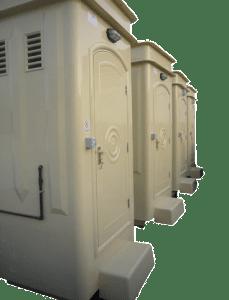GRP Portable Toilets