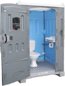 portable toilet direct sewer plumbing connect