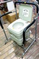 safari Toilets with Armrest bracket.