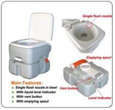 portable camping toilet dubai