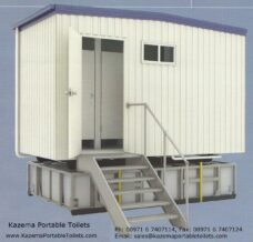 Prefab Toilet- Kazema