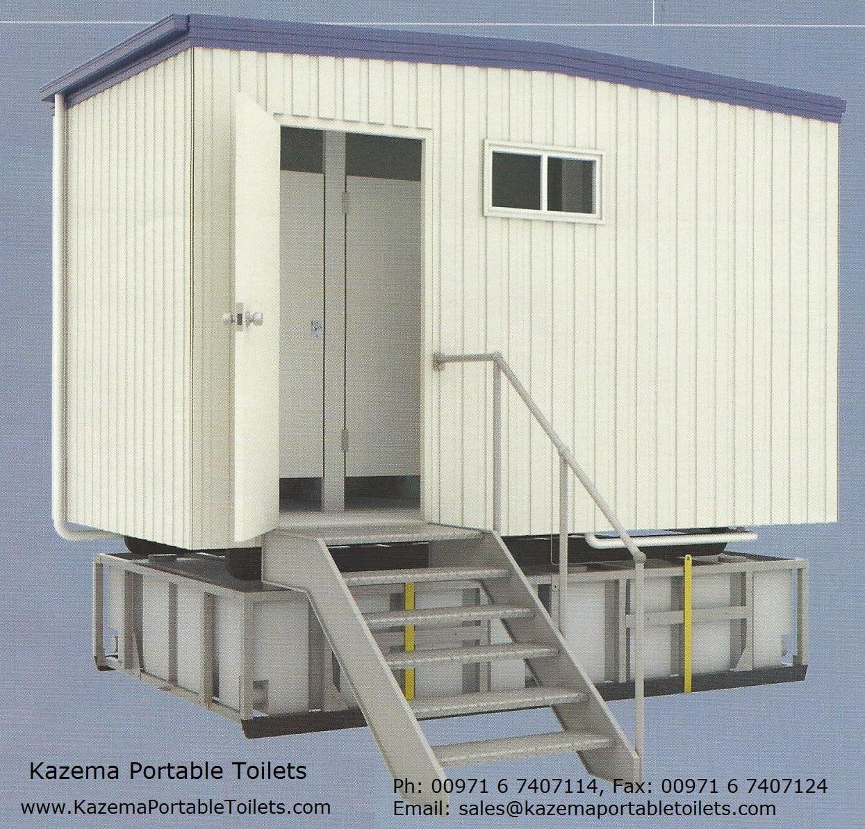 Prefabricated Cabin Toilets Portacabin Kazema Portable Toilets
