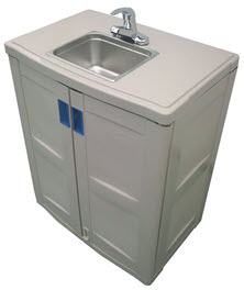Home - image Single-Portable-Handwash-sink on https://www.kazemaportabletoilets.com