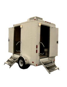 twin cabin executive trailer toilets dubai