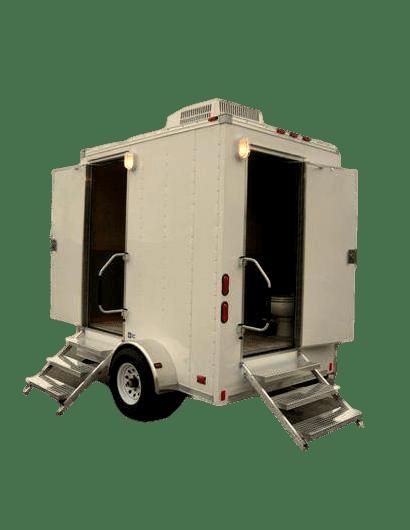 twin cabin executive trailer toilets dubai