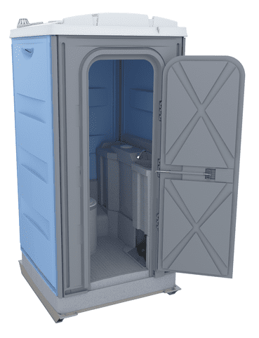 Plastic Single Cabin Toilets – Merlin Executive | Kazema