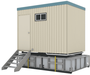 Prefabricated Cabin Toilets Portacabin Kazema Portable